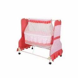 NATRAJ Mosquito Net Baby Cradle, Upto 1 Year, Powder Coated