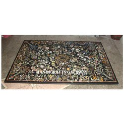 Stone Inlaid Pietra Dura Table Top