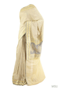 Beige Banarsi- Silk Blended Natural Tussar Saree With Blouse