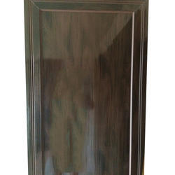 HInged Glossy Coloured PVC Door, For Home, Interior