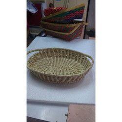 Bamboo Handicraft Grass Basket