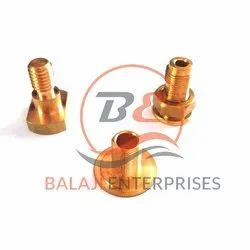 Threaded Brass Precision Components, For Automobile Industry