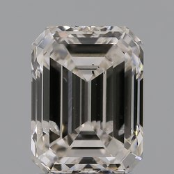 Emerald Cut CVD Diamond 2.00ct J SI2 IGI Certified