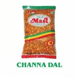 Spicy Channa Dal Namkeen, Packaging Type: Packet