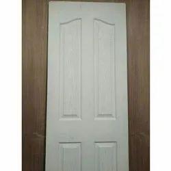 Matte Teak Wood 35mm Wooden Panel Flush Doors, For Hotel