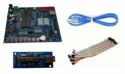 AVR Atmega16/32 Microcontroller Development Board With USB Programmer Combo