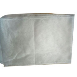 White Plain Pure Chanderi Fabric