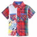 Kids Half Sleeve Shirt