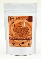 Zingysip Natural Dry Ginger Tea (250 gm.) with Burnt Sugar, Packaging Type: Pouch