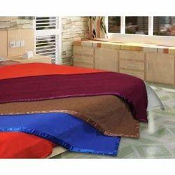 Anti Pill Fleece Plain Double Blanket