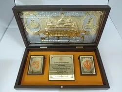 Divinity Golden Temple Gold Plated Photo Frame Box