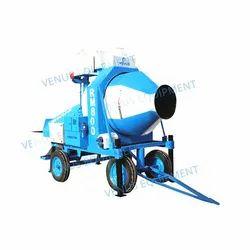 Venus RM 800 E Reversible Concrete Mixer, Power: 12.5 HP