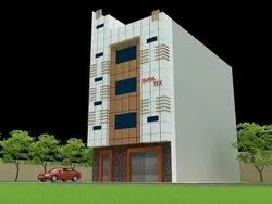 Alstone ACP Cladding Work in Delhi