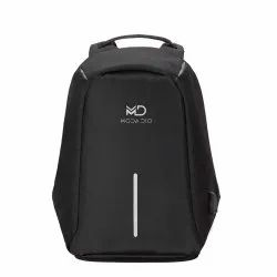 Water- Resistant Anti Theft Laptop Backpack with Charging Point (Black) for Size Up