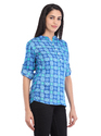 Cottinfab Women's Solid Short Kurti