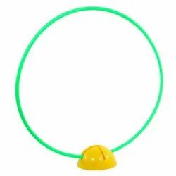 Plastic Yellow Super Dome Hoop Set, For Fitness