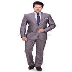 grey Men Formal 2 Pc Mens Suits, Size: Large