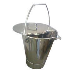 SS Lid Bucket