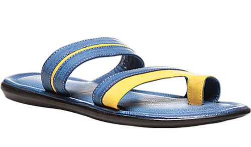 a9085602f44 Synthetic Bata Blue Chappals For Men F871909300