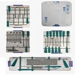Lumbar Cage Spine Instrument Set