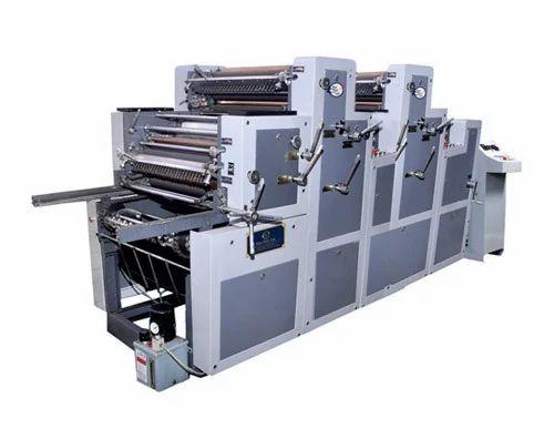 Three Color Non Woven Bags Printing Machine