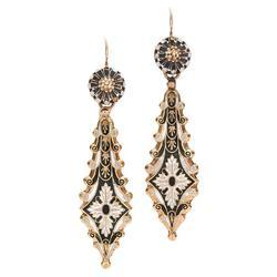 Golden And Black Victorian Jewelry