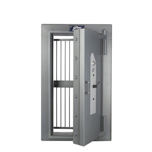Godrej Security Vault Door with Grill Gate