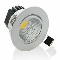Ceramic Cool White 3W LED Spotlight, For Indoor