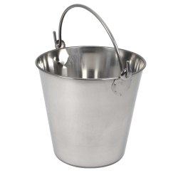 Stainless Steel Pail Bucket Without Cover