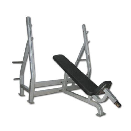 Peak Fitness Commercial Olympic Incline Bench With Support