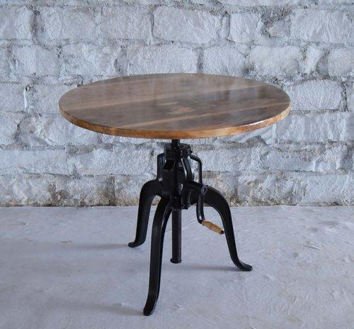Beau Industrial Crank Cafe Table
