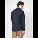 Green Hill Men's Designer Navy Blue Grey  Shirt