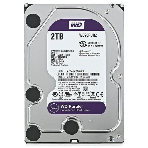 Wd 2 Tb Purple Hdd Western Digital Gst Paid
