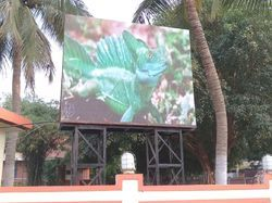 Outdoor Full Color LED Display, Shape: Rectangle
