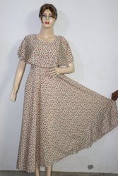 American Crepe Maxi Dress