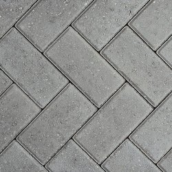 Outdoor Rectangular Concrete Paver Block, For Pavement, Thickness: 80mm