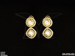 Round Triangle Nizam Earrings