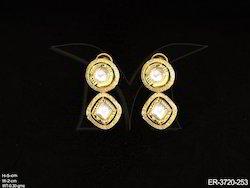 Round Triangle Nizam Earrings