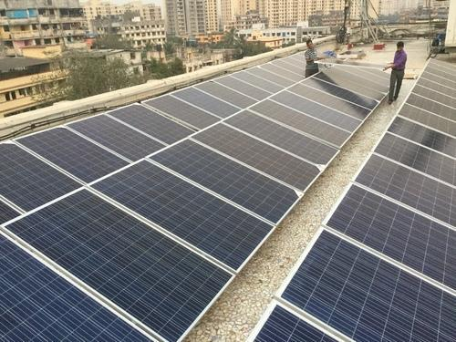 Rooftop Solar Power Systems Terrace Floor Mounted No
