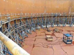 Hydraulic jacks 18 ton with lifting hooks