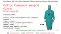 Cotton Casement Surgical Gown - Kinkob