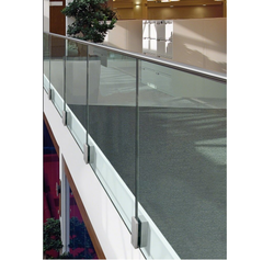 Balustrade Glass Hand Railing