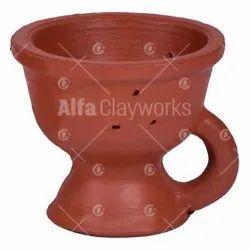 Terracotta Dhoop Burner With Handle