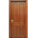 Brown Solid Wooden Door