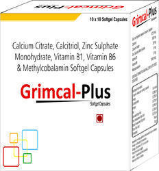 Calcium Citrate Calcitriol Zinc Sulphate Monohydrate Vitamin B1 Vitamin B6 and Methylcobalamin
