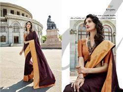 Triveni Gauri Series 12001-12008 Stylish Party Wear Georgette Saree