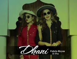 Heavy Rayon Party Wear Ladies Long Kurta, Dry clean