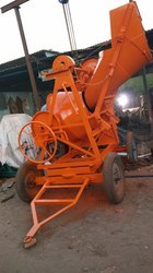 Manual Concrete Mixer Machine