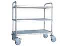 Tgp Stainless Steel Multipurpose Trolley, Capacity: 15 Litre