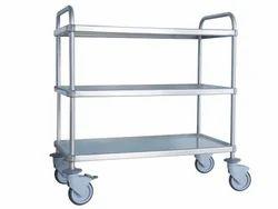 TGP Stainless Steel Multipurpose Trolley, Capacity: 15 Litre